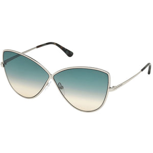Tom Ford Women's Sunglasses W/Blue Gradient Lens FT0569 16W