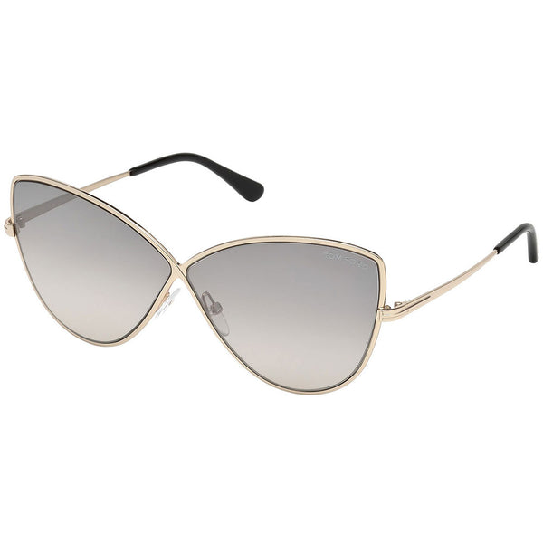 Tom Ford Elise Cat Eye Women's Sunglasses Grey Lens