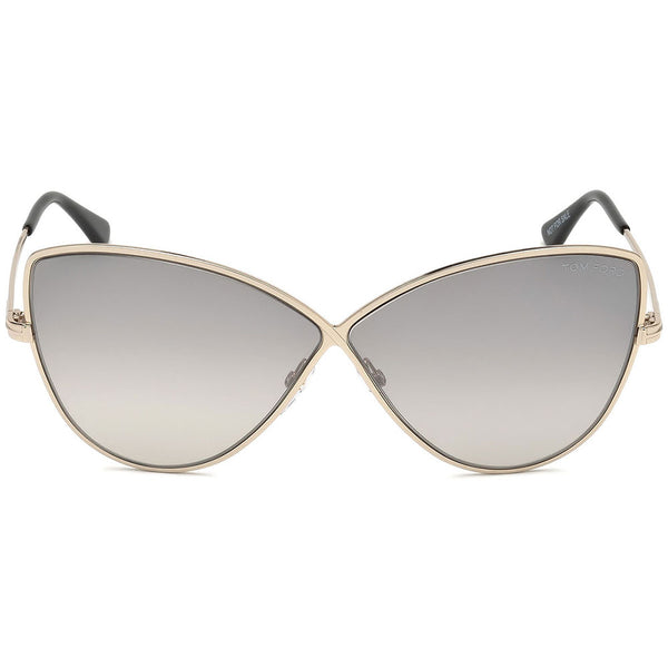Tom Ford Elise Cat Eye Women's Sunglasses Grey Lens | Front