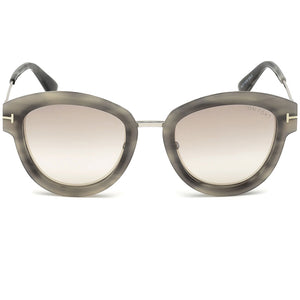 Tom Ford Mia Women's Sunglasses Brown Lens - Front Side