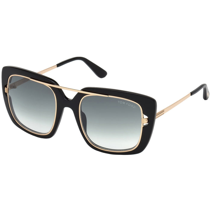 Tom Ford Marissa Women's Sunglasses w/Smoke Gradient Lens FT0619 01B