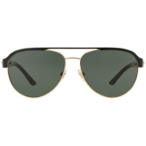 Versace Women's Aviator Sunglasses w/Green Grey Lens VE2165 136671