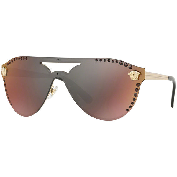 Versace Shield Style Women's Sunglasses