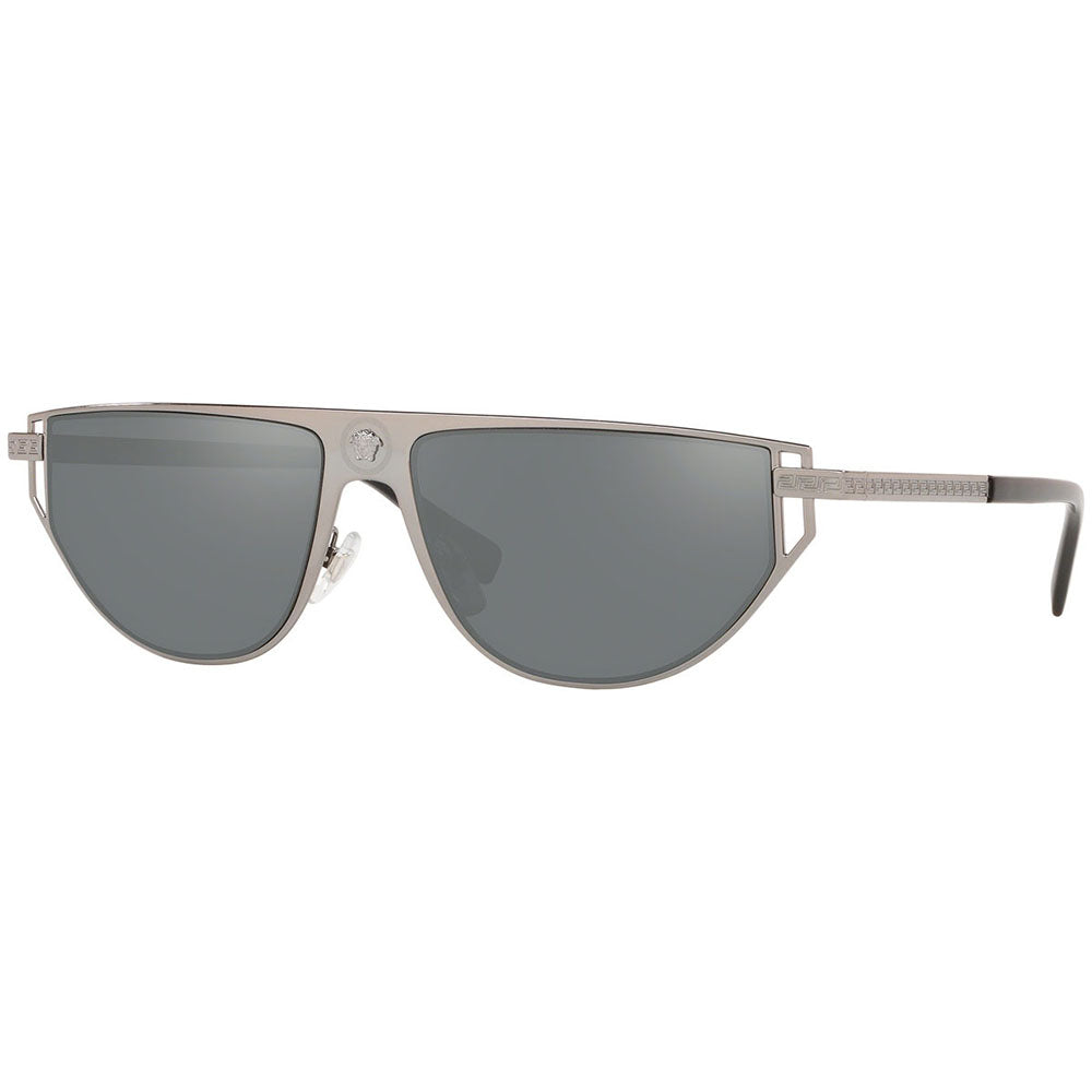 Versace Men's Sunglasses w/Grey Silver Mirrored Lens VE2213 10016G