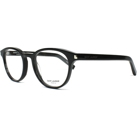 Saint Laurent Oval Unisex Eyeglasses W/Demo Lens CLASSIC 10-005 50