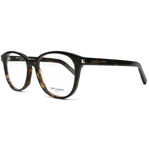 Saint Laurent Oval Unisex Eyeglasses W/Demo Lens Classic 9 002