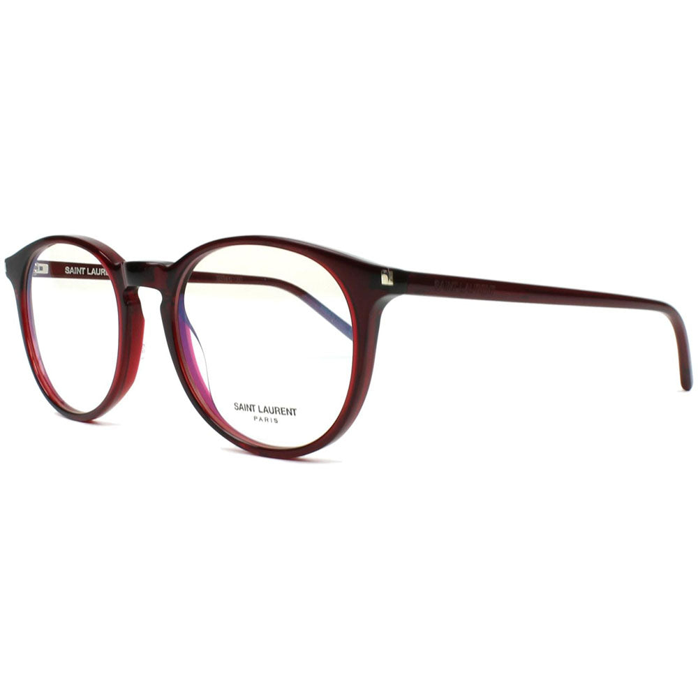 Saint Laurent Round Unisex Eyeglasses Demo Lens SL 106-006