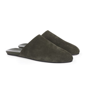 Men's Slider Army Suede