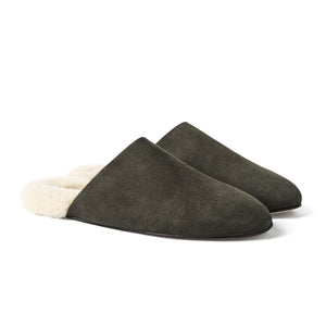 Men's Slider Army Shearling