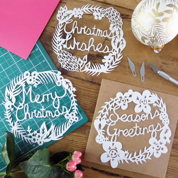 Christmas Paper Cutting with Aimee Richards