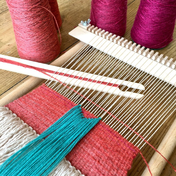 Introduction to Frame Loom Weaving (3 Hour)