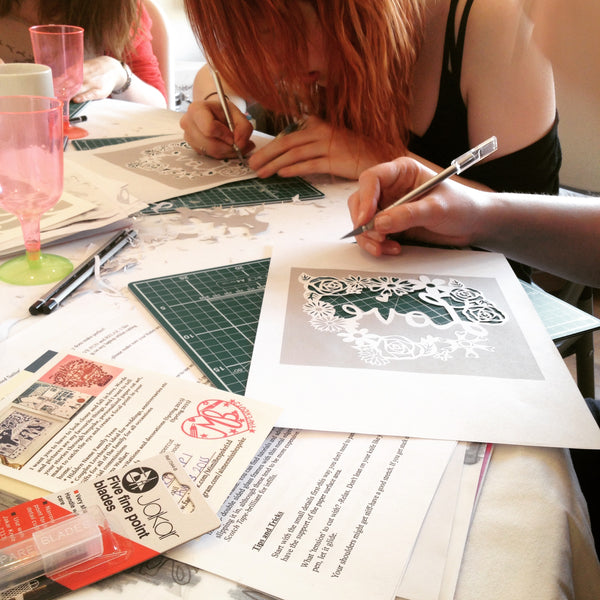 Paper Cutting with Aimee Richards