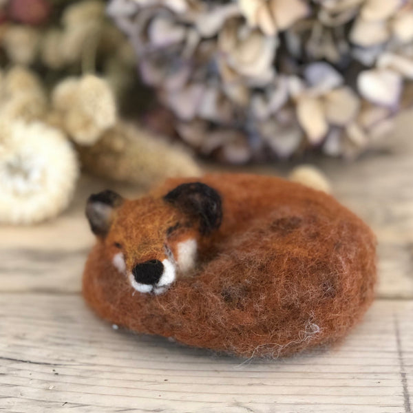 Sleepy Creatures Needlefelting Workshop