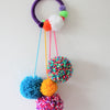 Pom Pom Wreaths age 5-8 with Kate Woods