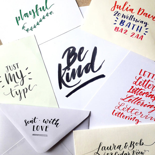 Brush Lettering Introduction Course