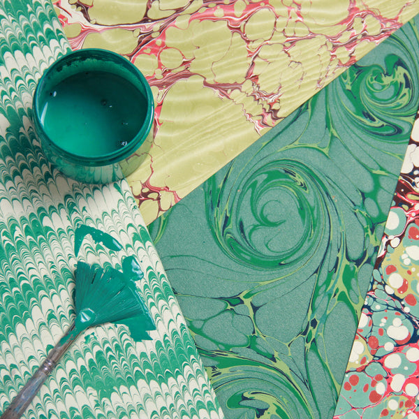 Marbling Workshop with Florence from Inq
