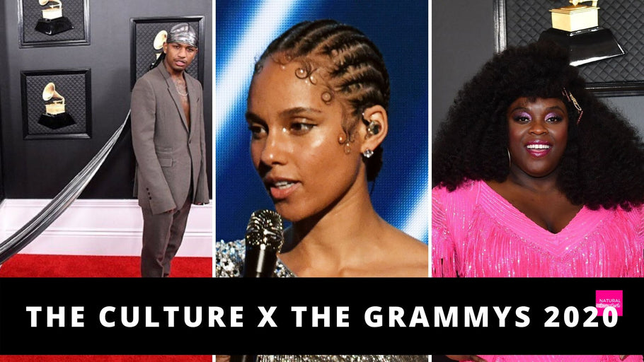 15 Celebrity Natural Hairstyles that Killed it at the Grammys 2020