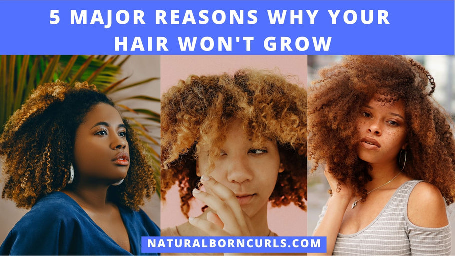 Top 5 Reasons Why Your Natural Curly Hair Isn't Growing