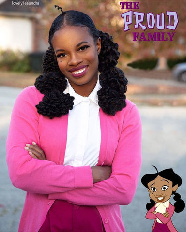 Penny Proud Costume | Curly Hair Natural Hair Halloween Costumes