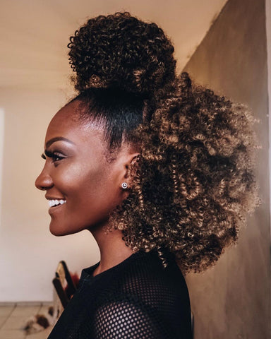 Type 4 Hair | Natural Hairstyles for Curly Hair| Natural Born Curls | Black Beauty Bloggers and Influencers