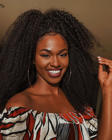 Brown Skin Girl | Natural Hairstyles | Natural Born Curls | Black Beauty Bloggers and Influencers