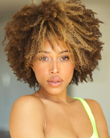 @saytheless afro hairstyle ideas Natural Born Curls