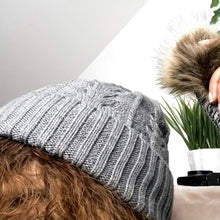 Load image into Gallery viewer, Satin Lined Winter Hat |  Beanie