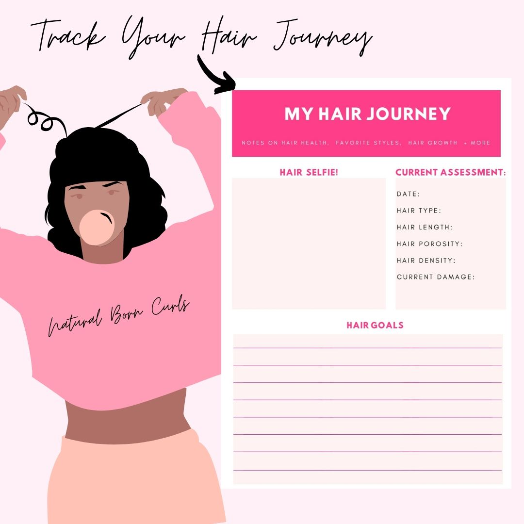Track Your Hair Growth With This Planner Lipstick Alley