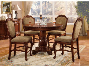 Earline Round 5PC Dining Set