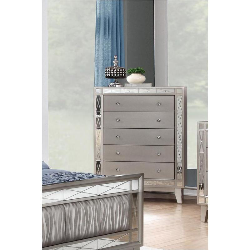 Caly Cream Bed dresser tall
