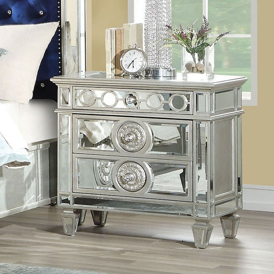 Gisela Nightstand with decorations