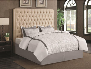 Analidia Metal Headboard beige