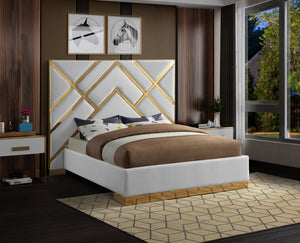 Kate Faux Leather Bed