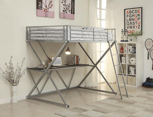 Augustus Full Work Station Loft Bed