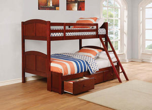 Ace Twin/Twin Chestnut Bunk bed