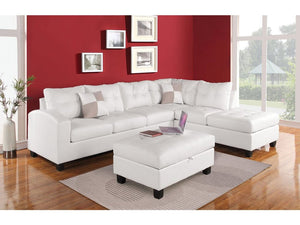 Annie White Sectional