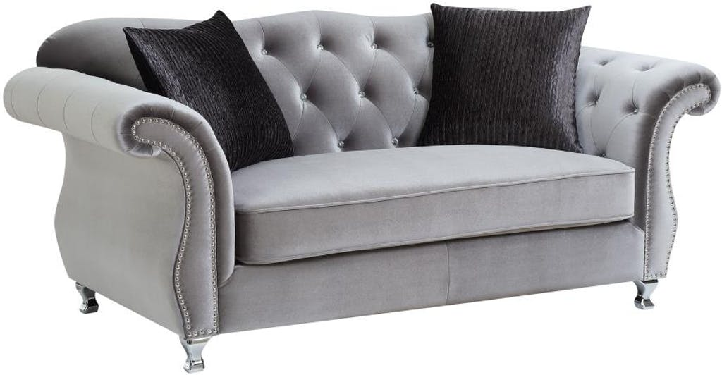 Henry Sofa Collection loveseat with pillows