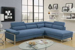 Alex Blue Sectional