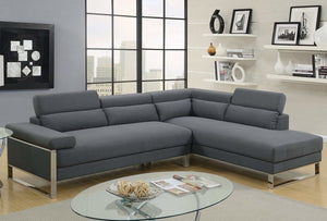 Alex Charcoal Sectional