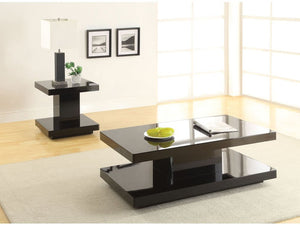 Cleon Black Coffee Table