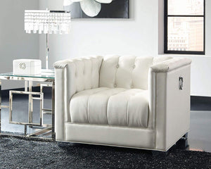 Prince Pearl White Collection chair