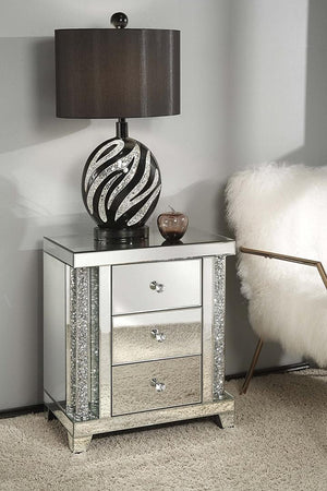 Sonia Nightstand near bed