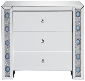 Agate Accent Cabinet Grey