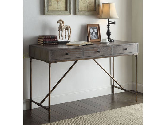Quarry Dark Oak Office Desk