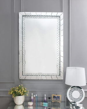 Emmy Accent Mirror above table