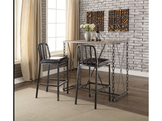 Celia 3PC Counter Height Dining Set