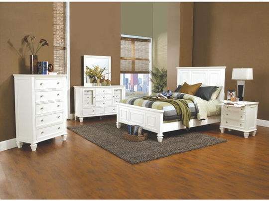 Alice in White Bedroom Set