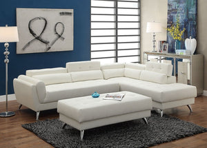 Alexa White Sectional