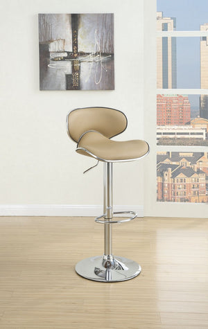 Amelia Brown Adjustable Bar-Stool