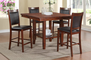 Ariel Counter Height 5PC Dining Set